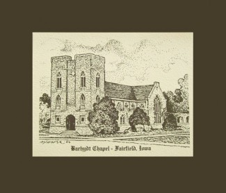 """Barhydt Chapel Notecards"""