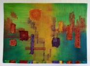 """""""IOWA ART QUILTERS"""" Exhibit in Main Gallery. Opening Reception Friday Oct. 2,  6-8 PM. Exhibit through end of November"""